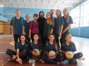 Збірна школи з волейболу